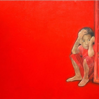 Child In Red Limited edition print